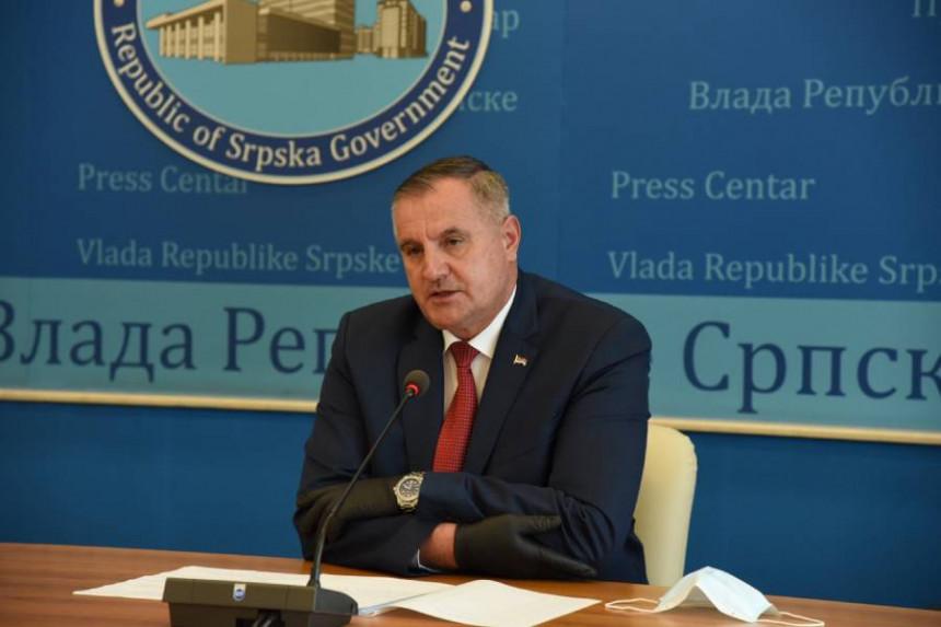 Vlada predlaže ukidanje vanrednog stanja u Srpskoj