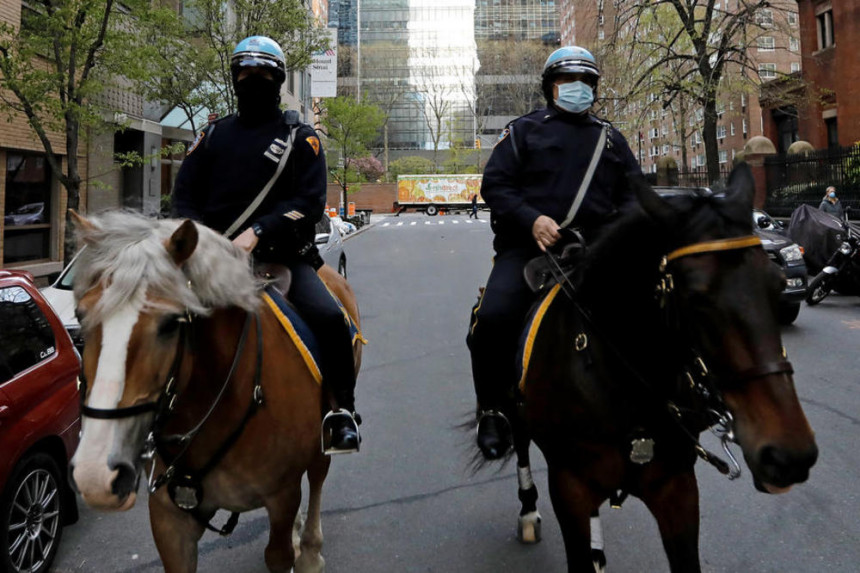 Njujork: Od korone se oporavilo 5.400 policajaca