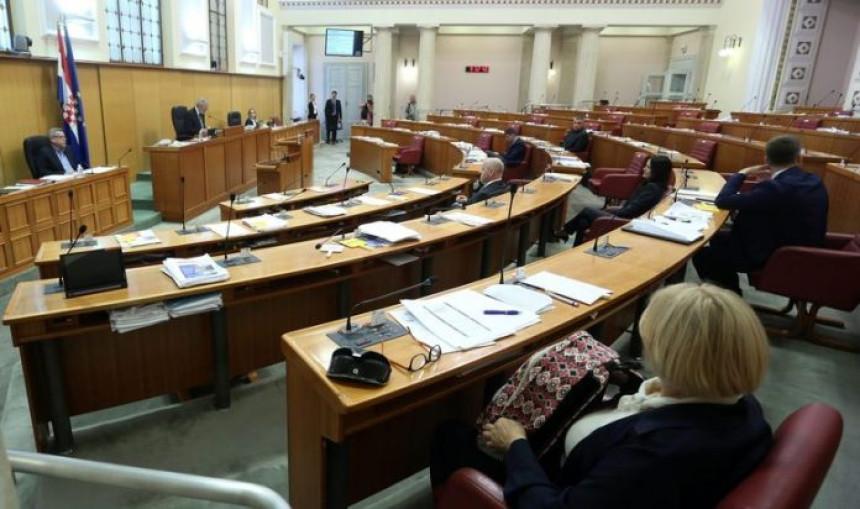 Донешена одлука: Распуштен хрватски Сабор
