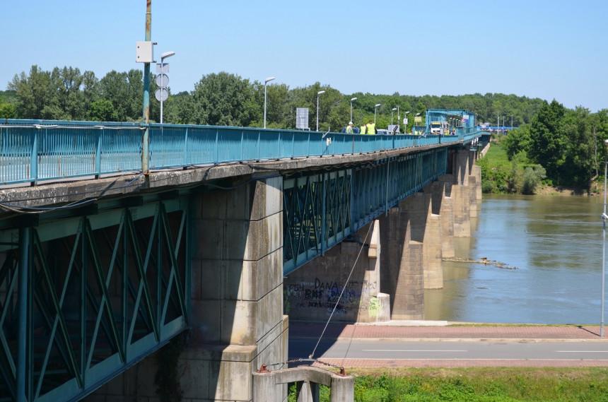 Počeli radovi na rekonstrukciji mosta na rijeci Savi