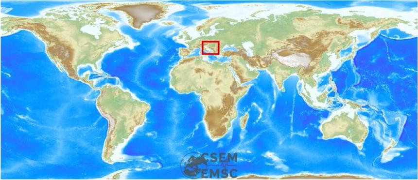 Слабији земљотрес осјетио се у Бањалуци