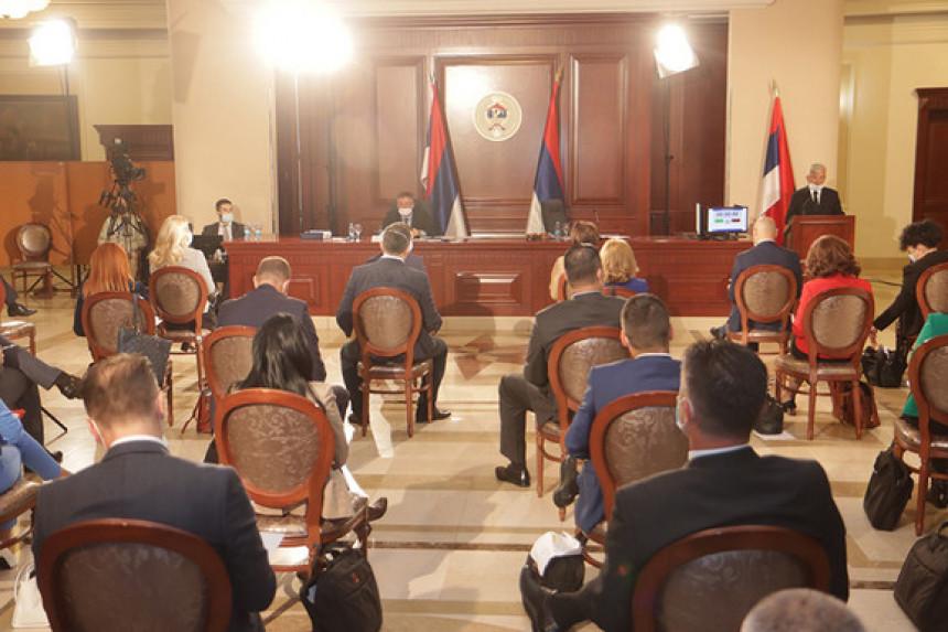 Poslanici NSRS počeli raspravu o zaduženju Srpske