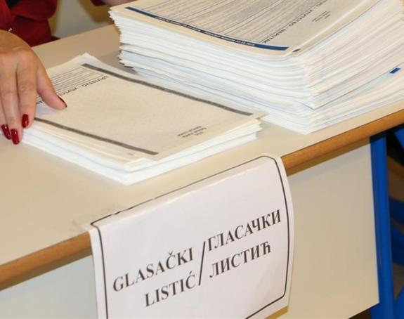 1,1 milion KM za štampanje glasačkih listića