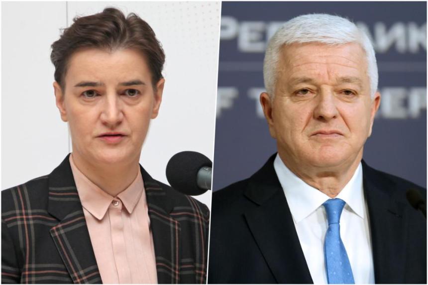 Brnabić poručila: Poruka Podgorice je savršeno jasna