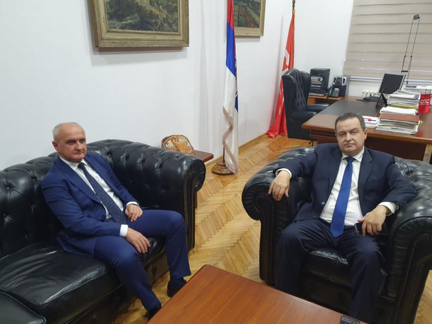 U Beogradu se sastali Petar Đokić i Ivica Dačić