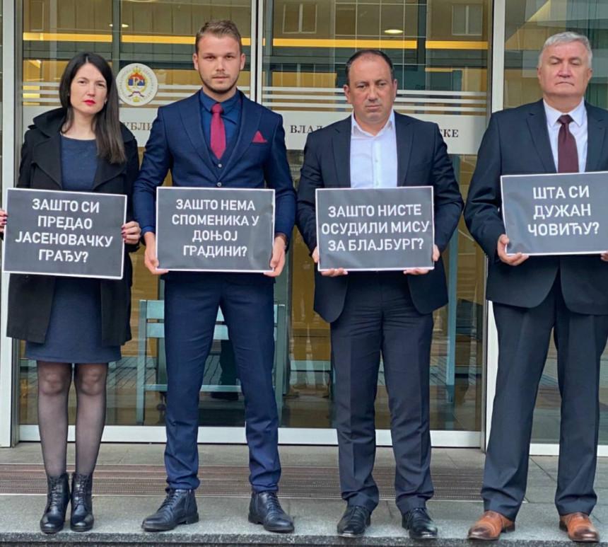 Pogledajte šta poslanici PDP pitaju Dodika