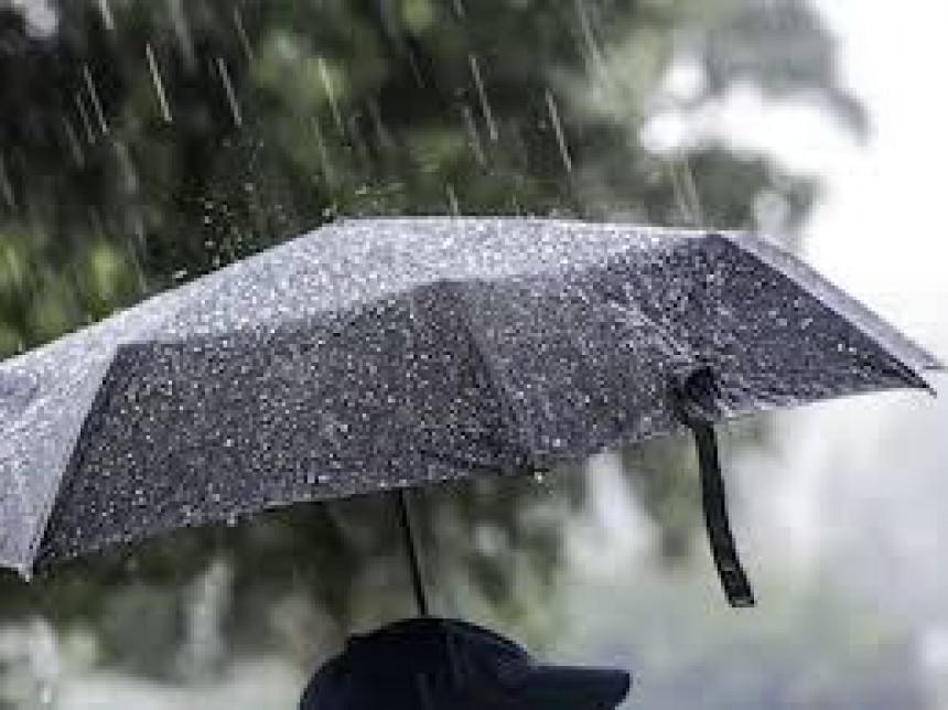 Danas kiša, moguće i nepogode uz jak vjetar