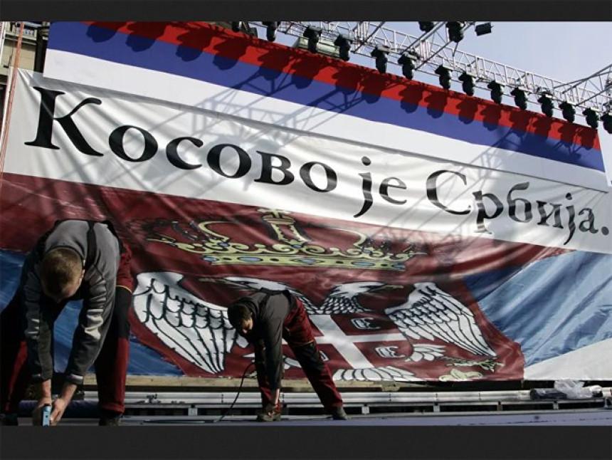 """""""Kosovo je Srbija"""" i na protestima u Americi"""