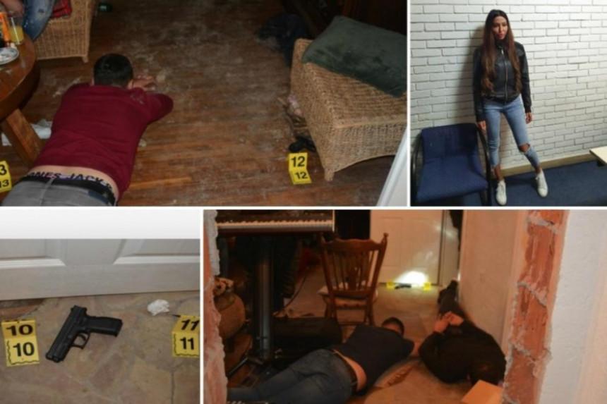 Hapšenje Ajfonke hit na društvenim mrežama (VIDEO)