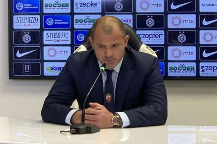 Stanković preuzeo krivicu za poraz crveno-belih