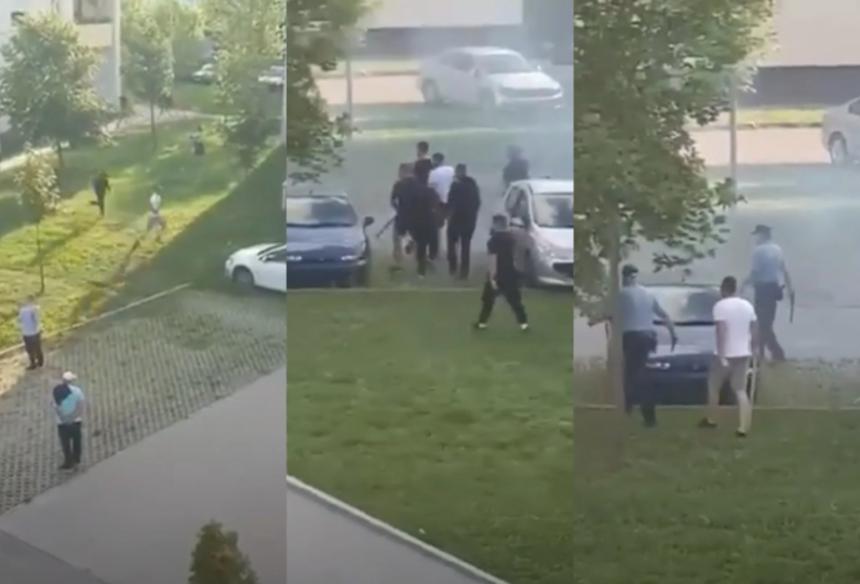 Žestoka tuča navijača Dinama i Partizana u Vukovaru (VIDEO)