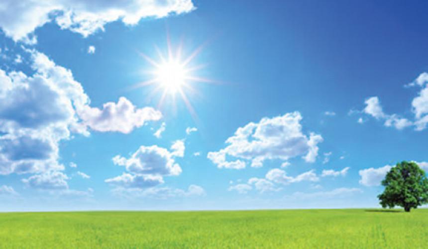 Pretežno sunčano i toplo vrijeme, danas do 32 stepena