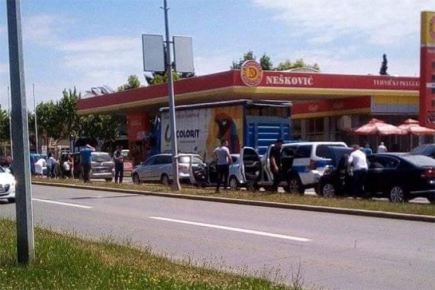 Banjaluka: Sudar šest vozila, među njima i policijsko