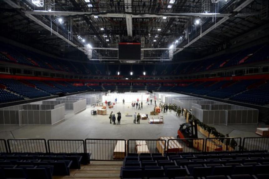 """Štark arena"" privremeno postaje kovid bolnica"
