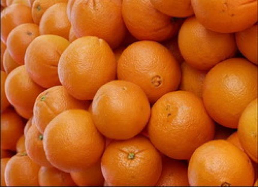 Uvozna narandža jeftinija od domaće jabuke