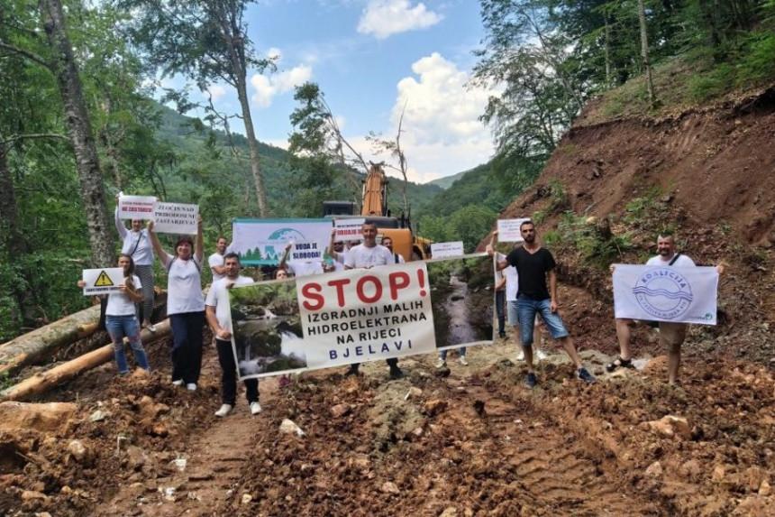 Ekolozi na nogama u Foči, traže ostavku ministra