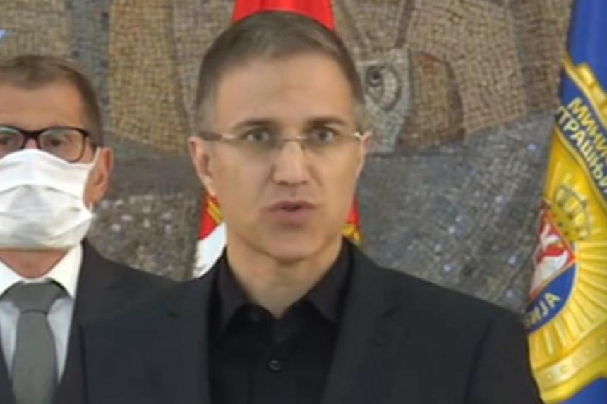 Ministar policije: Pokušaj nasilnog preuzmanja vlasti
