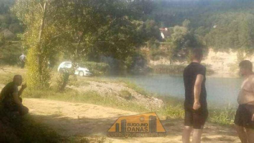 Пронађено тијело младића који се утопио у језеру