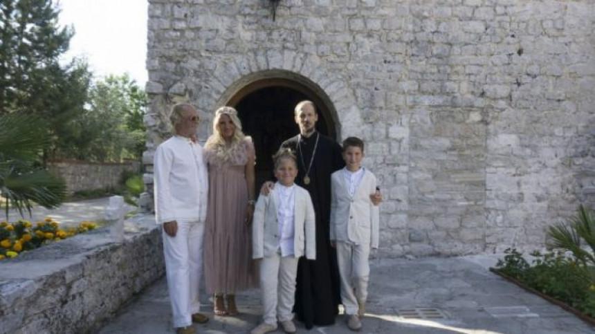 U Petropavlovom manastiru Drašković krstio sinove