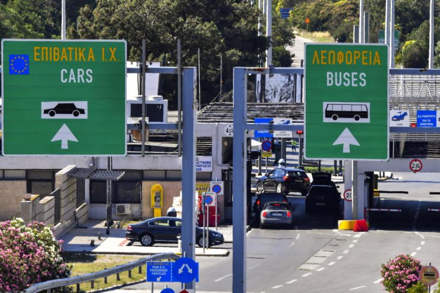Grčka granica zatvorena za Srbe do 1. avgusta?