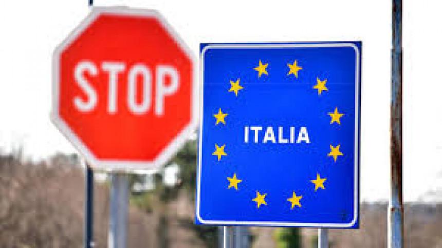 Italija stavila rampu i za Srbiju, Crnu Goru i tzv. Kosovo