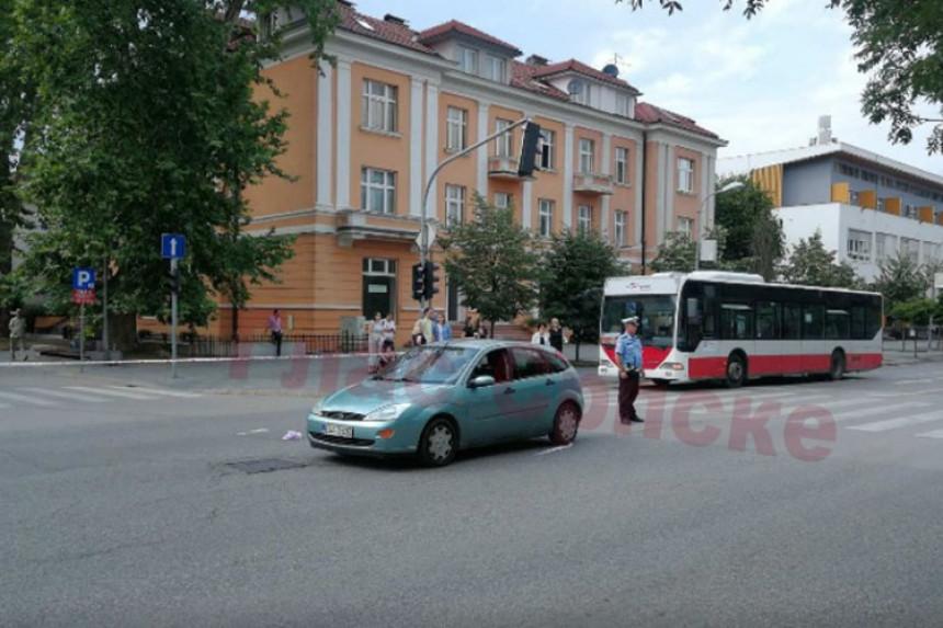 Automobilom naletio na ženu u centru Banjaluke