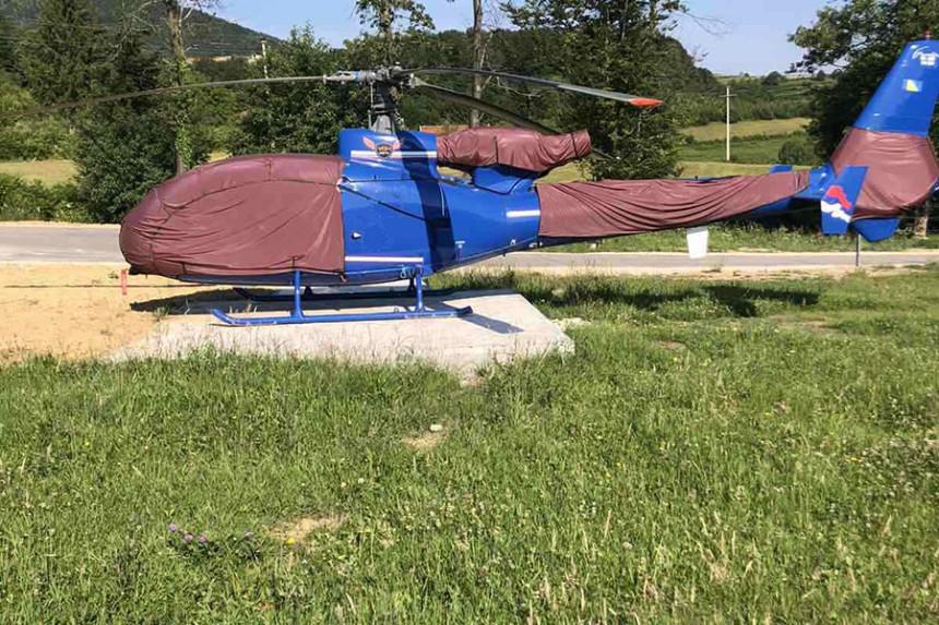 """Fotografije oduzetog helikoptera u akciji """"Parma 2"""""""