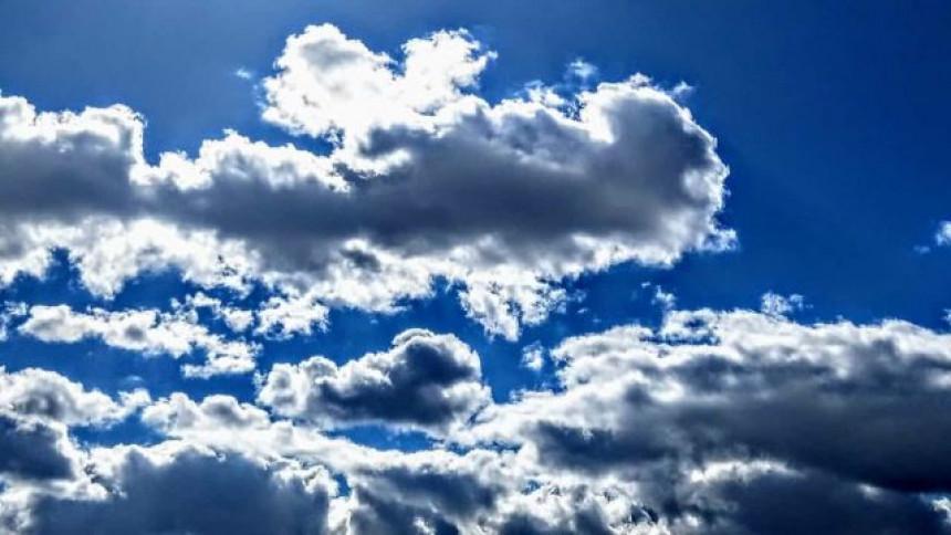 Veći dio dana oblačno, poslije više sunca