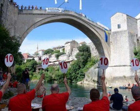 Skokovi u Neretvu: Mostar ima nove prvake
