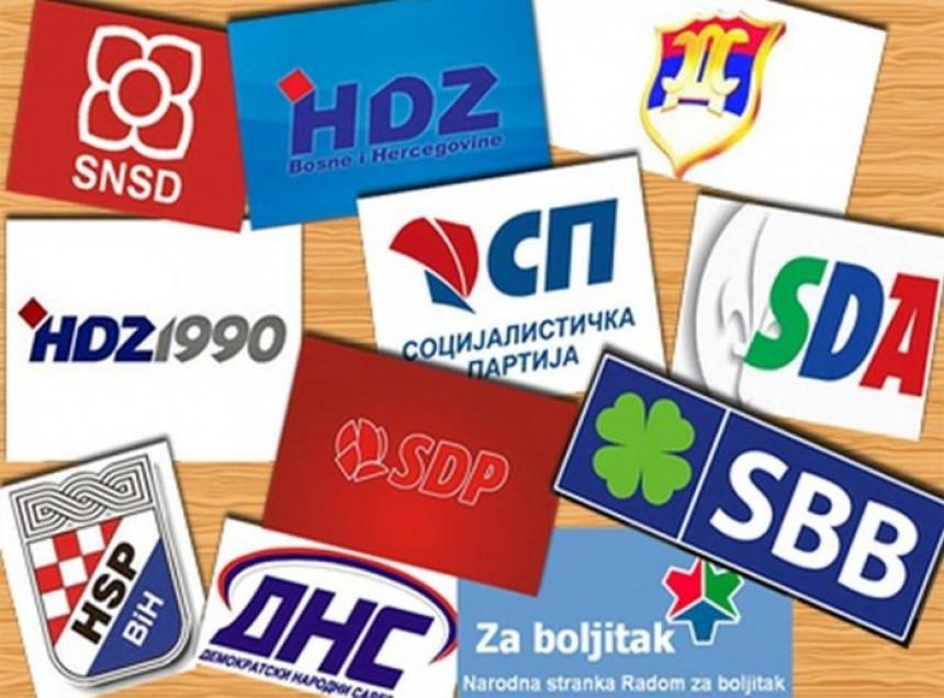 U BiH političke stranke niču kao pečurke nakon kiše