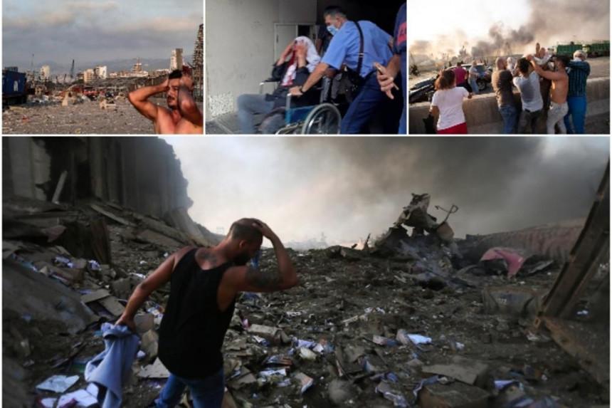 Najmanje 25 ljudi poginulo, hiljade povrijeđenih (VIDEO)