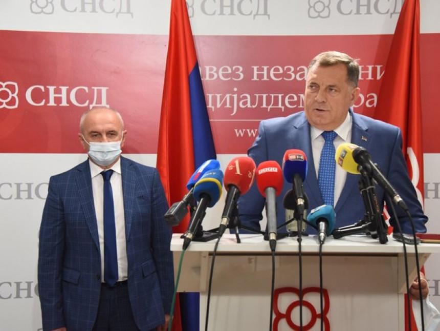 Додик и Ђокић потврдили останак у коалицији