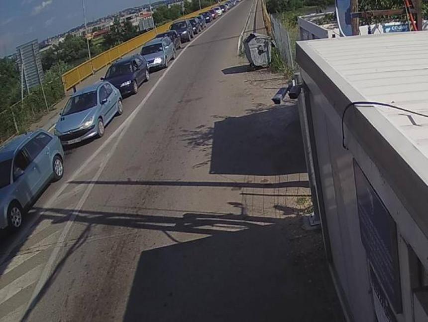 Pojačan saobraćaj na Karakaju i Šepku
