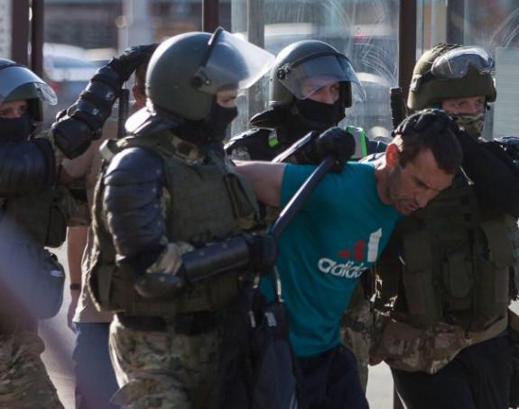 Protesti u Minsku: Policija pucala na građane