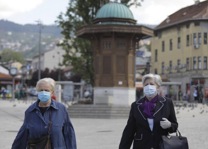 U Kantonu Sarajevo 70 novooboljelih od virusa korona
