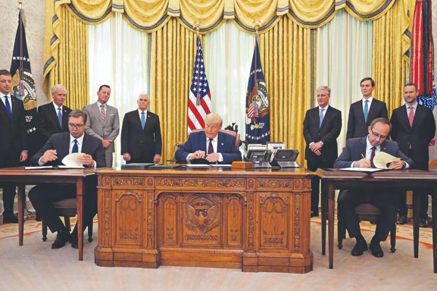 Evo šta sadrži Vašingtonski sporazum