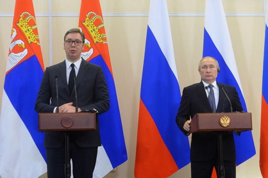 Kosovsko pitanje tema razgovora Vučića i Putina