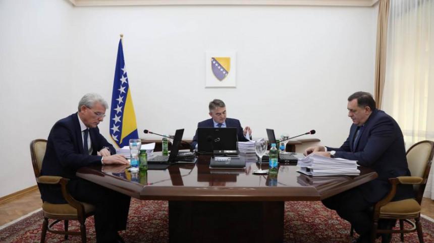 Predsjedništvo BiH o premještanju Ambasade, Kosovu...