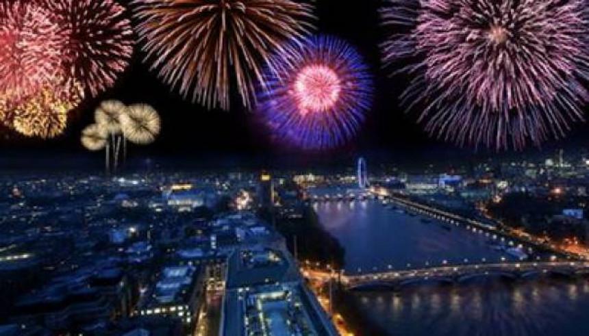 Лондон: Отказан новогодишњи ватромет
