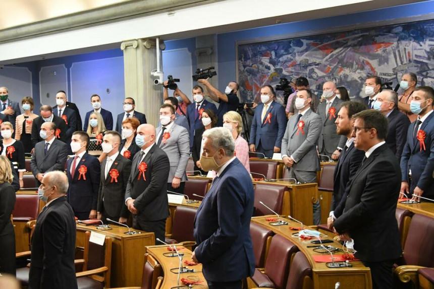 Bečić izabran za predsjednika Skupštine CG