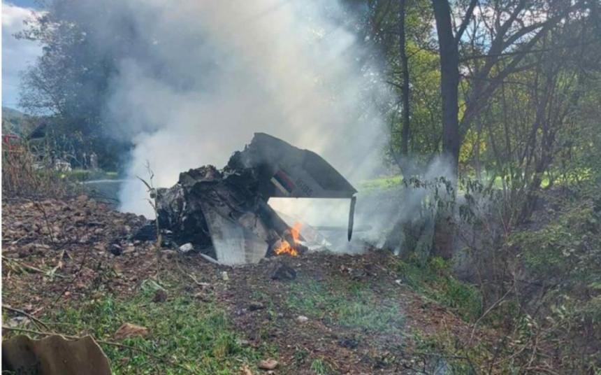 Poginula oba pilota u padu aviona MIG 21 Vojske Srbije