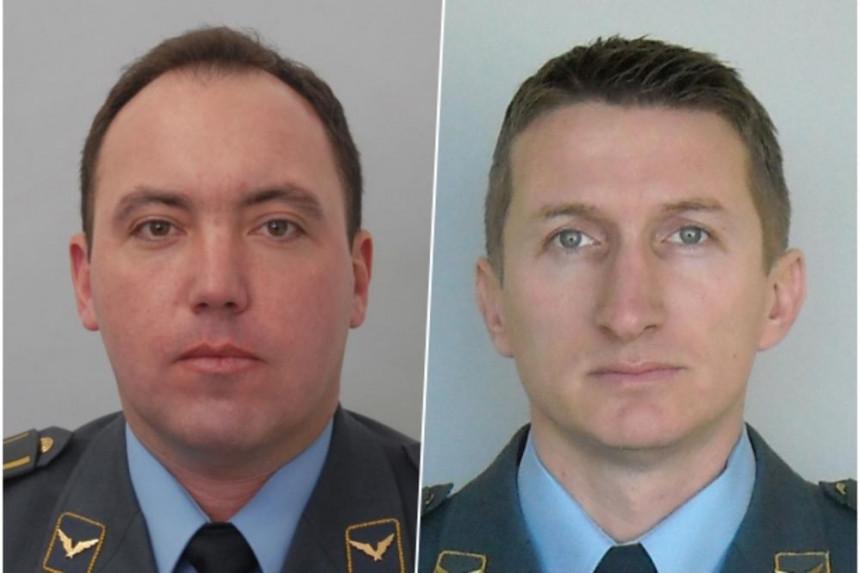 Ministarstvo odbrane objavilo imena poginulih pilota