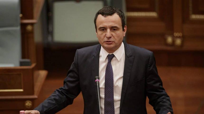Kurti: Hoti je stvorio četvrtu Jugoslaviju