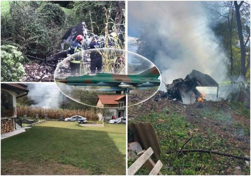 Nastradali piloti odbacili rezervoar da bi spasili tuđe živote