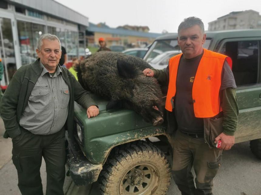 Srbac: Dramatičan lov, ranjen vepar napao lovca