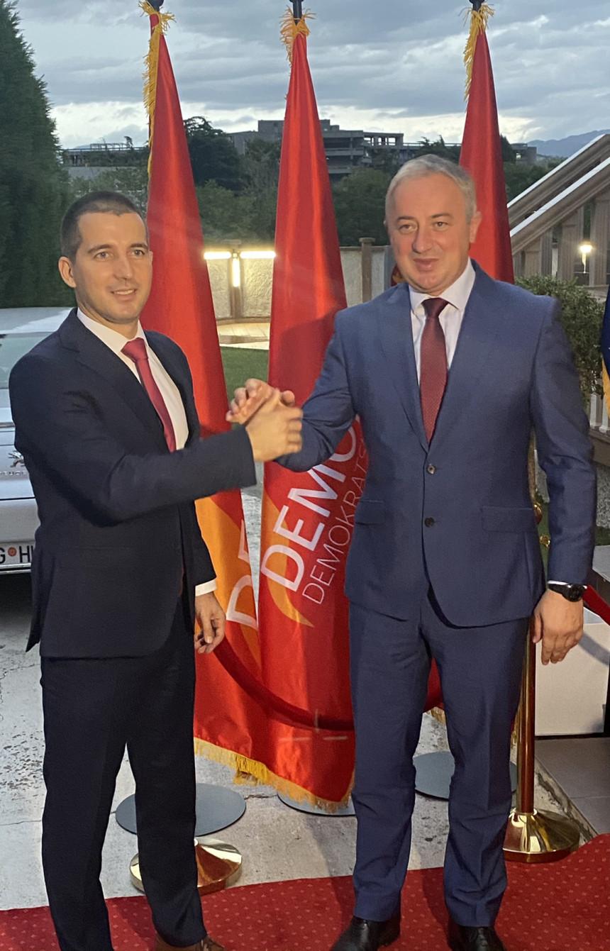 Подгорица: Бечић и Бореновић о изборима и пријатељској сарадњи