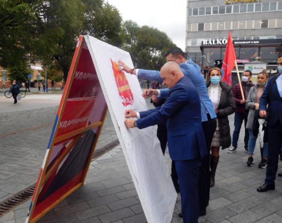 Socijalisti započeli kampanju: Izlazimo na izbore sa jasnom porukom