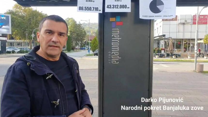 """Gdje je """"isparilo"""" 43 miliona maraka iz budžeta Doboja? (VIDEO)"""