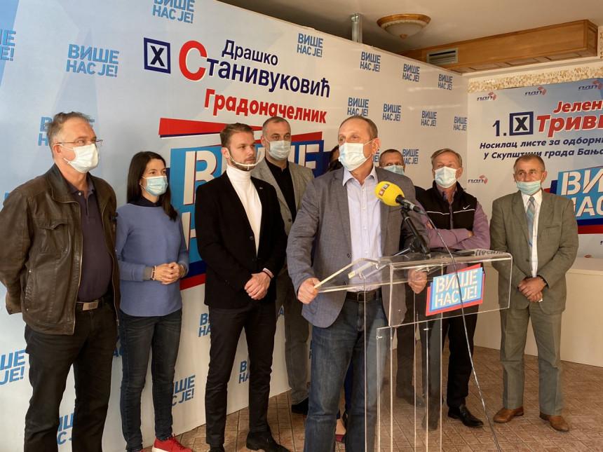 Podrška Drašku i njegovom radu za bolju Banjaluku i Republiku Srpsku
