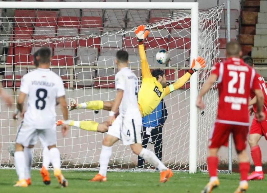 Treći poraz: Evrogol Pantelića slomio Partizan!